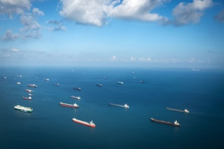 Getty Images 936252000 Tanker ships
